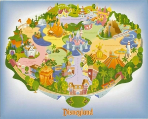 Disneyland Map GWP