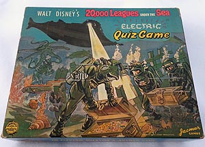 Walt Disney's 20,000 Leagues Under the Sea Electric Quiz Game