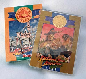 Disneyland 40 Years of Adventure SEALED Trading Cards + Indy Card